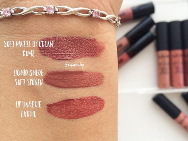 NYX Liquid Lipstick Round Up (ummbaby.blogspot.co.uk)