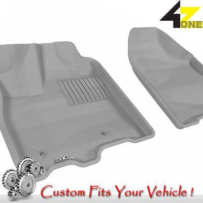3D Fits 2013-2015 Toyota Sienna G3AC60589 Gray Carpet Front Car Parts For Sale