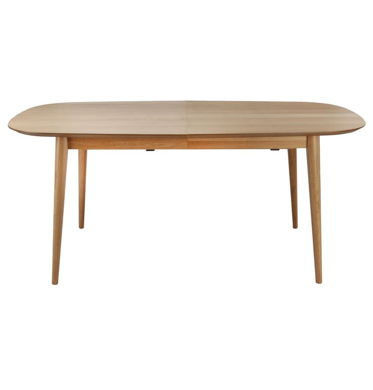Stockholm Extension Dining Table - Matt Blatt