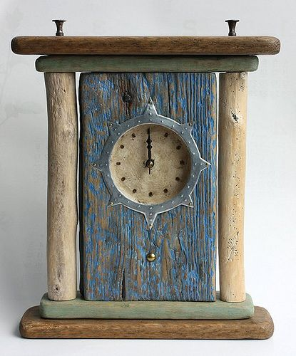 driftwood clock | kobunecraft | Flickr