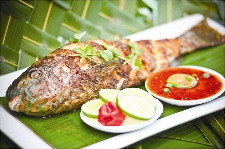 Beautiful fresh fish cuisine at Sinalei Reef Resort & Spa, Samoa  www.islandescapes.com.au