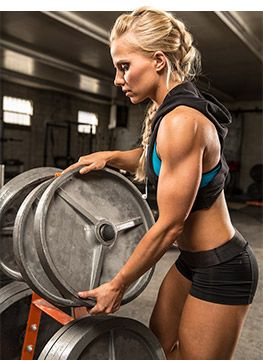 Bodybuilding.com - 30-Minute Upper-Body Workout For Women- will this get me her arms?!