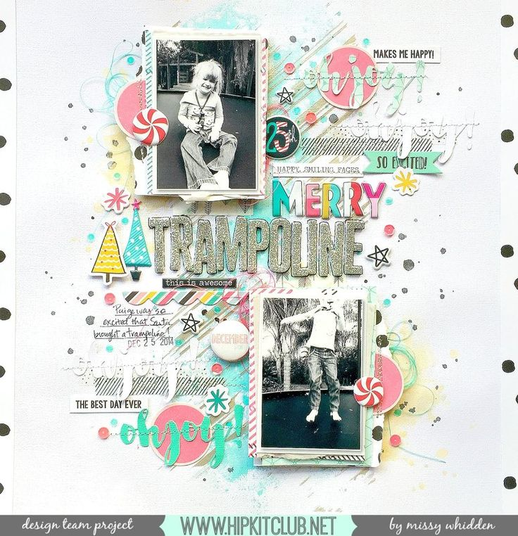 Hip Kit Club DT Project - 2016 November Hip Kits - exclusive products designed by Kim Watson; Crate Paper, American Crafts, Pinkfresh Studio, Shimmerz Paints; cut file by Tiffany Medina