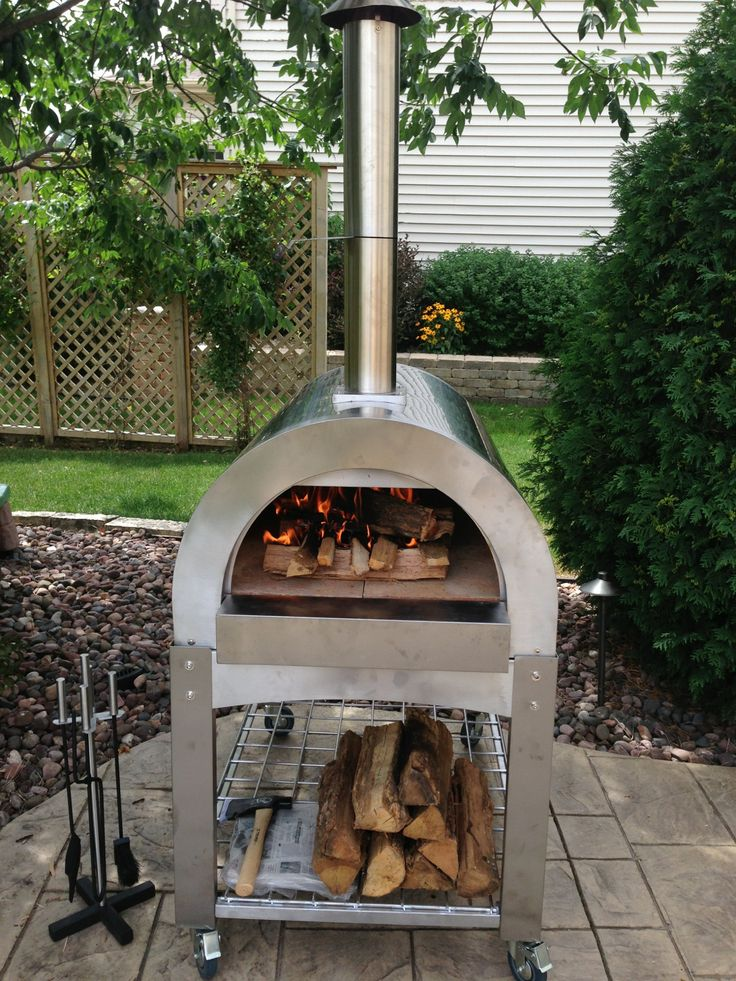 10 best four a pizza images on Pinterest Pizza ovens, Wood burner