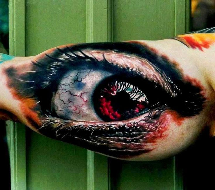 Normally not too big on hyper-realism, but this tattoo ...