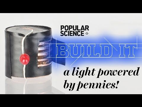 how to build a battery from pennies