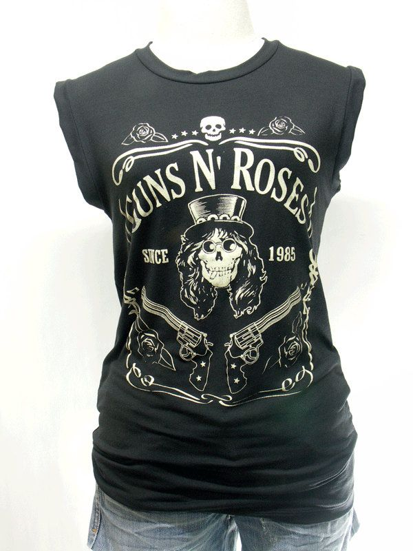 Slash, tshirt , short sleeve tshirt ,women t shirt , tank top ,vest women shirt , rock tee , black shirt tunic. $14.99, via Etsy.