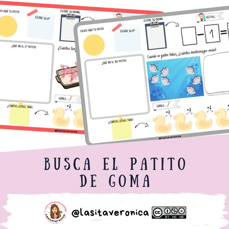 Busca El Patito De Goma Look For The Rubber Duck Primaria In 2020 Map