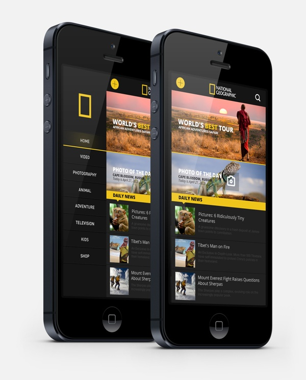National Geographic Re-design / Enes Danış