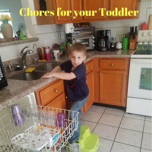 Chores for Your Toddler - Tug Wife Life