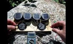 Here's How To Make A Solar Battery Charger For About $4 So You Can Power Your Stuff Off Grid