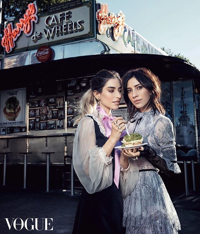 The Veronicas for Vogue Australia 2016