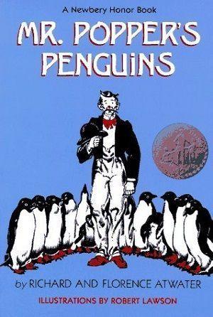 Mr. Popper's Penguins Unit Study Lesson Plans FREE