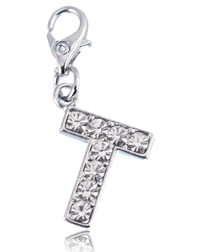 Charm Lettre T strass - So Charm