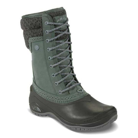 The North Face Shellista II Mid Boots for Women in Green NF00CVX2-JWB