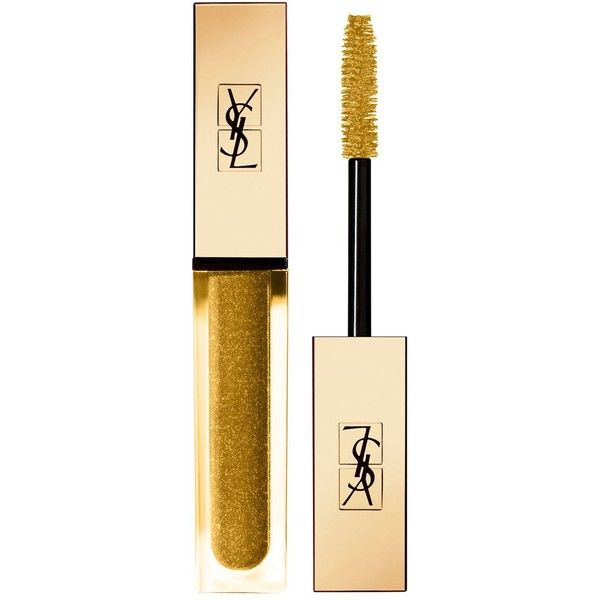 YSL Vinyl Couture Mascara ($34) ❤ liked on Polyvore featuring beauty products, makeup, eye makeup, mascara, yves saint laurent mascara, polishing kit, glossier mascara, lengthening mascara and glossy eye makeup