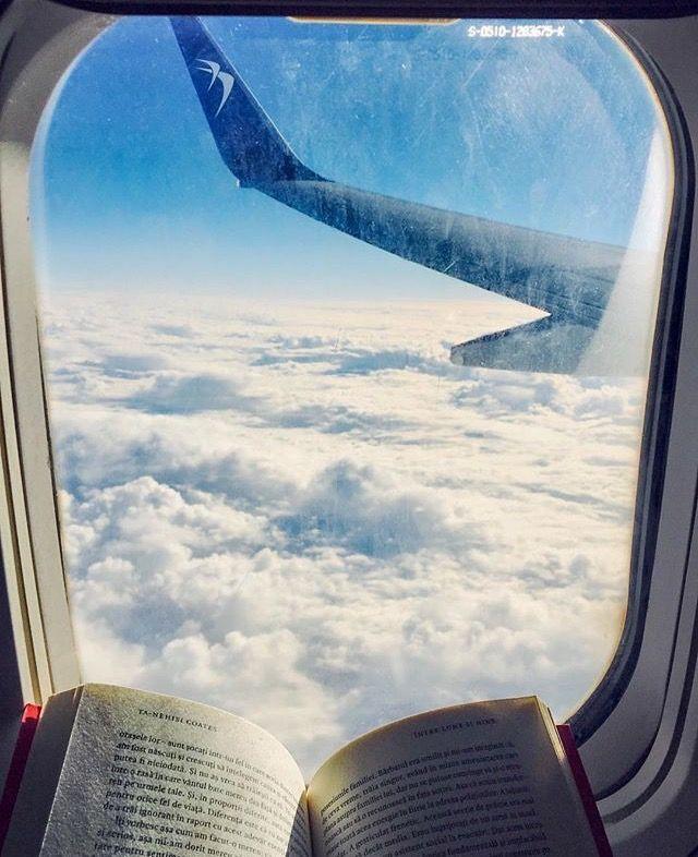 j u s t  g o ! #travel #read #book #airplane