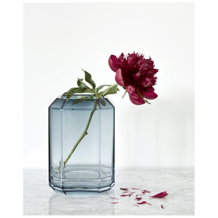 Wazony, dmuchane szkło, kolorowe duńskie szkło, skandynawski design, artykuły dekoracyjne do wnętrz, Jewel Vase, Louise Roe, Dania - www.moaai.com