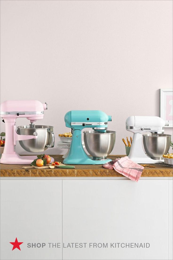 A Pastel Stand Mixer Will Immediately Liven Up Your Kitchen And Countertop Invest In A