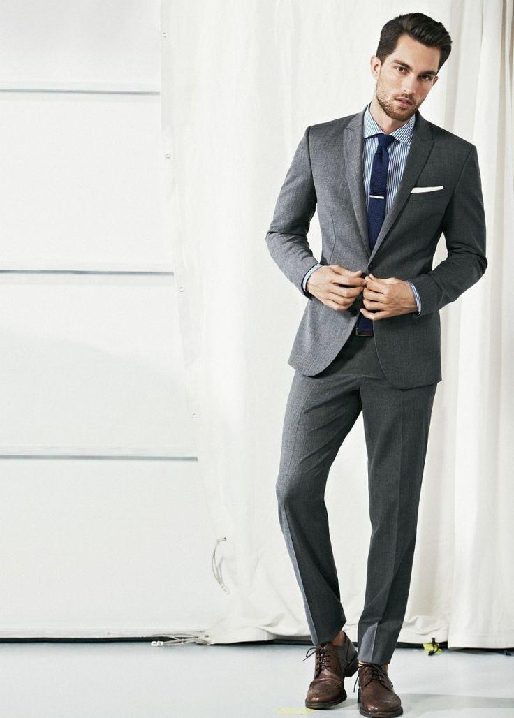 Πάνω από 25 κορυφαίες ιδέες για Grey suit brown shoes στο ...