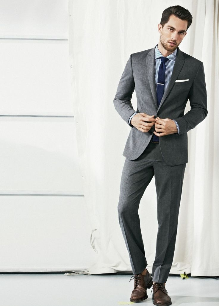 1000  ideas about Grey Suit Brown Shoes on Pinterest | Brown shoe