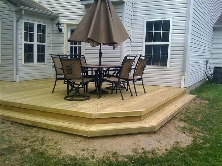 Simple Wood Patio Designs Backyard Deck Ideas On A Budget Patio