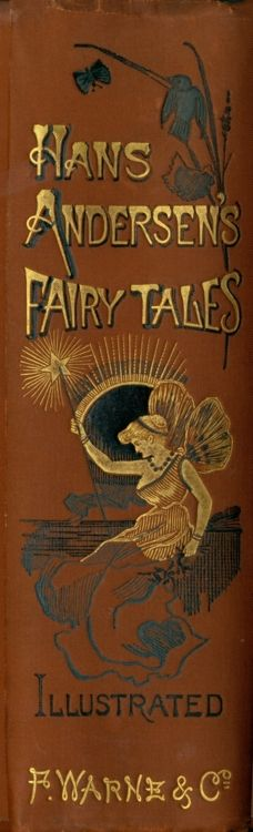 Hdans Andersen't Fairy Tales. F.Warne & Co. Spine of book