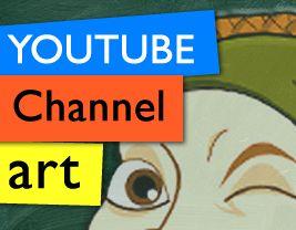 Raccolta di YouTube Channel Art, le grafiche per il nuovo design dei canali YouTube (2013)
