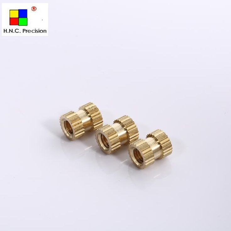 BK009 OEM Service Precision brass nut , Brass Inserts for Plastic ,Threaded Insert Made IN China