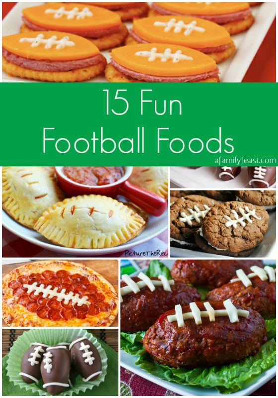 15 Fun And Easy Sewing Projects For Kids: Seasons, Football And Super Bowl Foods