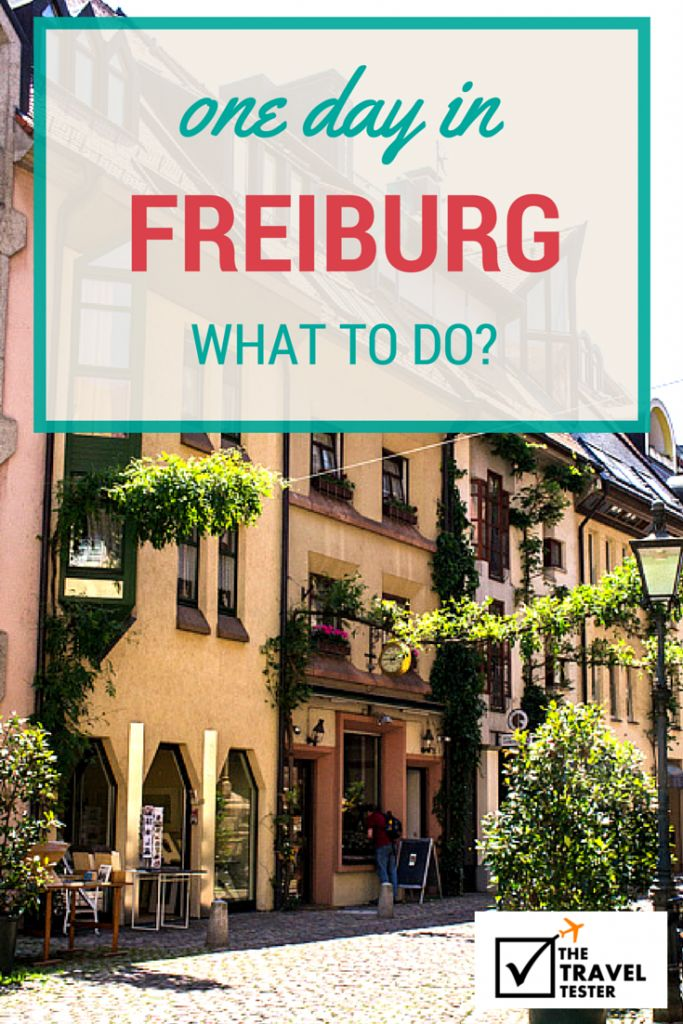 If you only have 1 day to spend in the city of Freiburg,Germany, here's a handy guide on where to eat, what to see and do in such a short time | The Travel Tester