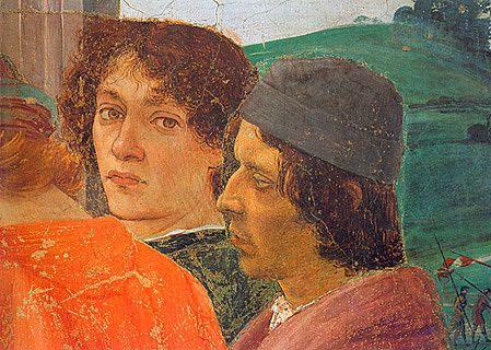 La Dispute de saint Pierre avec Simon le Magicien, Filippino Lippi