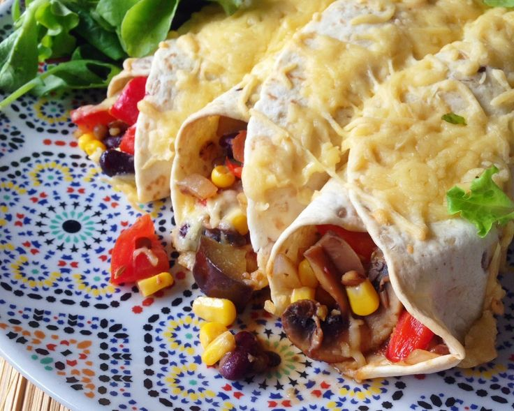 Healthy Living in Heels: Vegetarische Enchilada's