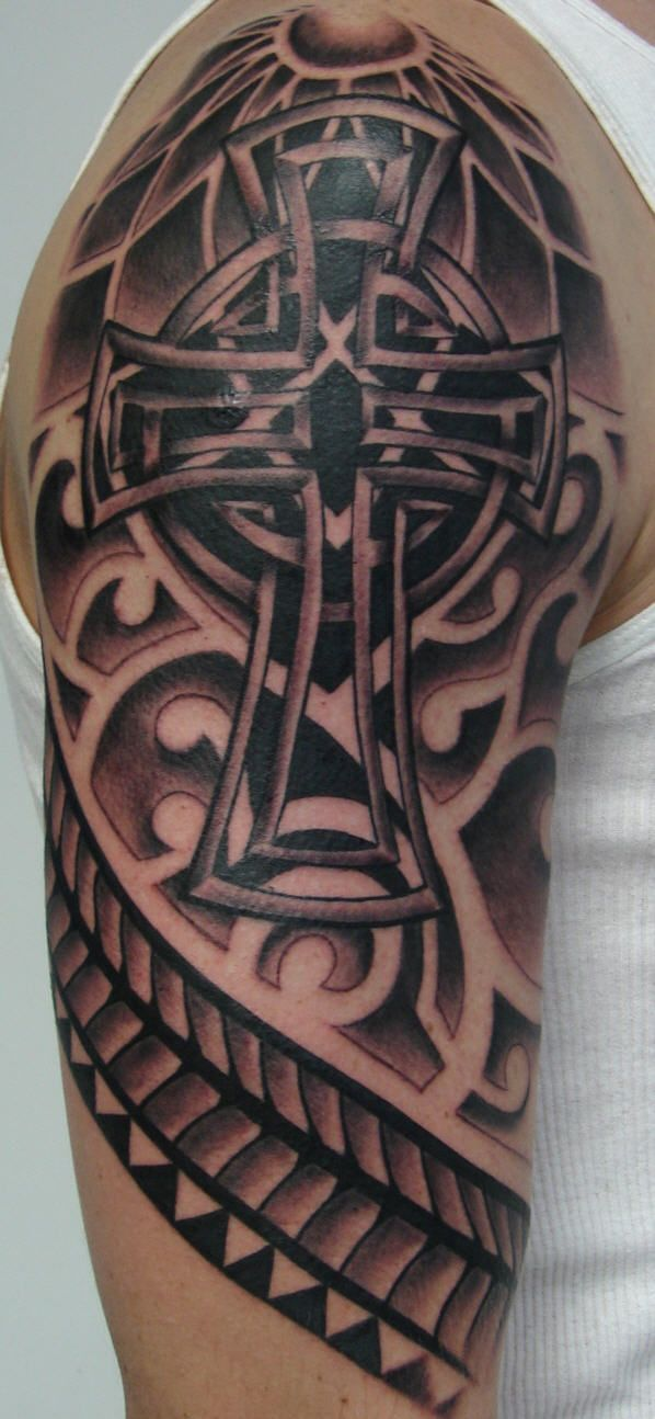 Celtic Sleeve Tattoo