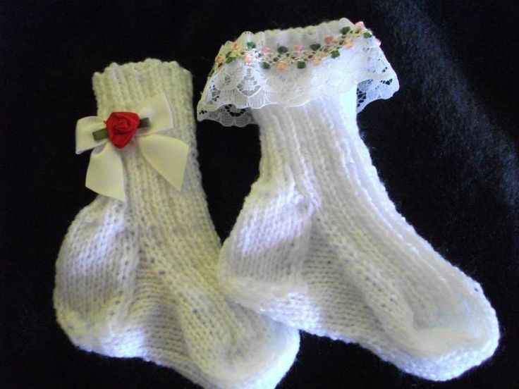 Baby Socks - Knitting creation by mobilecrafts | Knit.Community