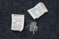 Réutiliser les sachets de silice ou Silica gel