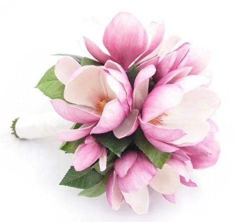 Magnolia Wedding Bouquet Images   Mauve magnolia bouquet by Loveflowers   Wedding flowers to love & che ...