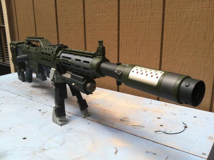 Nerf Longstrike Assault Rifle by The-ARSENAL
