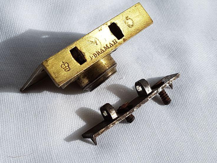 Antique Bramah patent lock