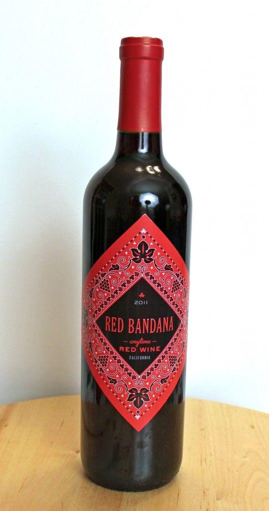 Wine Review Red Bandana Anytime Red Wine Red Wine Wine