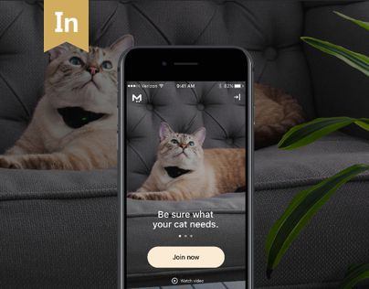 "Check out this @Behance project: ""Moggie Mobile App For Cats. Product Design."" https://www.behance.net/gallery/48549907/Moggie-Mobile-App-For-Cats-Product-Design"
