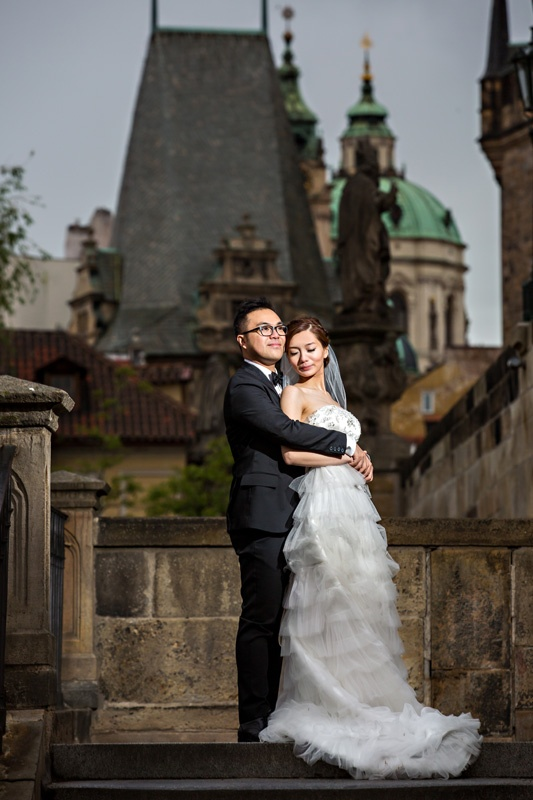 This is a great place in prague for wedding shoots #wedding #prague #travel