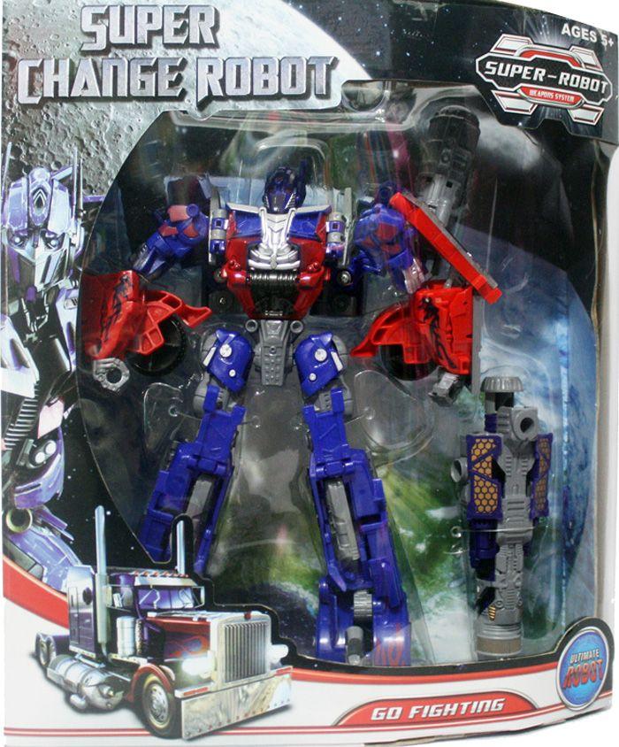 Robot Optimus Prime ukuran medium Tinggi 25CM. Optimus prime keren yang dapat berubah menjadi Mobil
