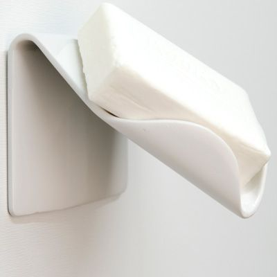 Soap Holder - Keeps the soap from getting soggy and melting because it's sitting in water