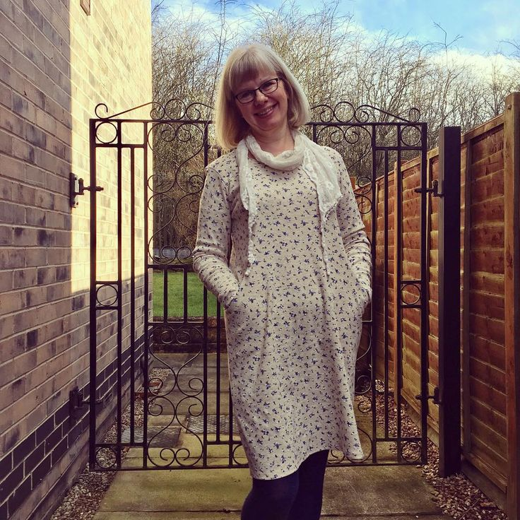 Heather Dress by Sew Over It. Love how comfy it is!