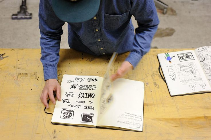 Image of Pen & Paper: Micah Belamarich of ONLY NY