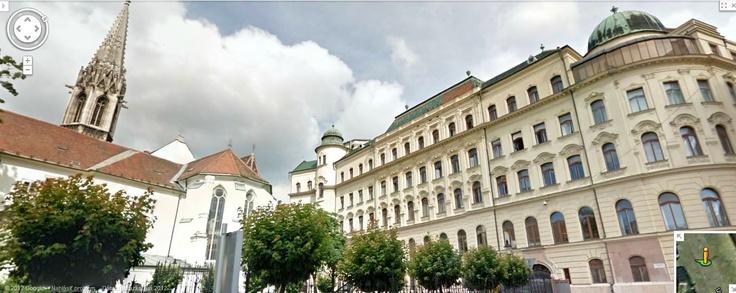 Google Street View - Ursulinska street, Bratislava