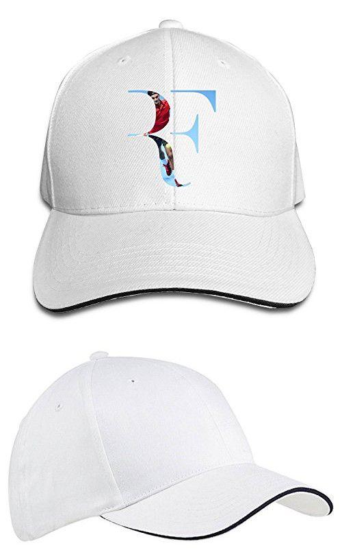 87596c2fcde Sunny Fish6hh Unisex Adjustable Roger Federer Baseball Caps Hat One Size  White