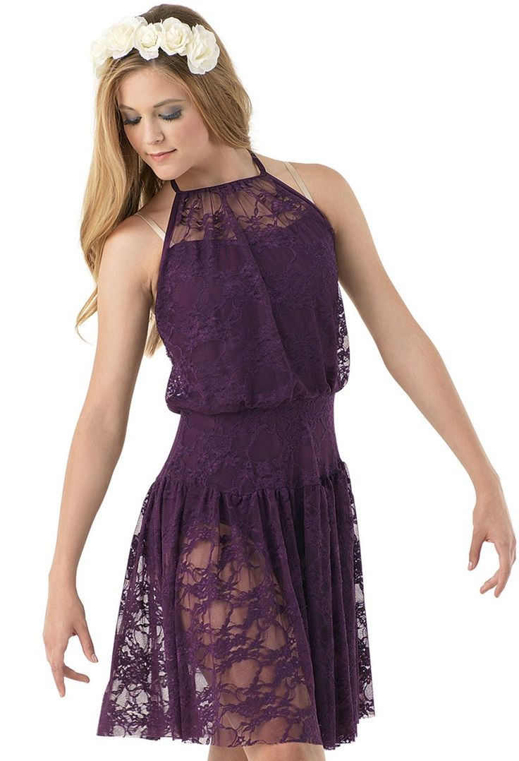 Stretch Lace Halter Dress | Balera™ - summertime sadness - ldr (strings version)