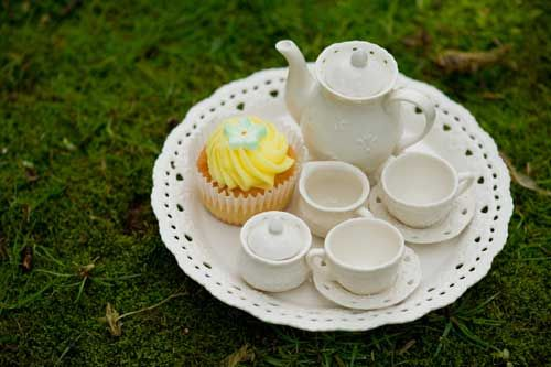 Steeped tea My First Tea Set Children's Tea Party  What a beautiful way to share a chat with your children and friends